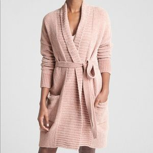 NWNT Chenille Robe Cardigan Sweater.